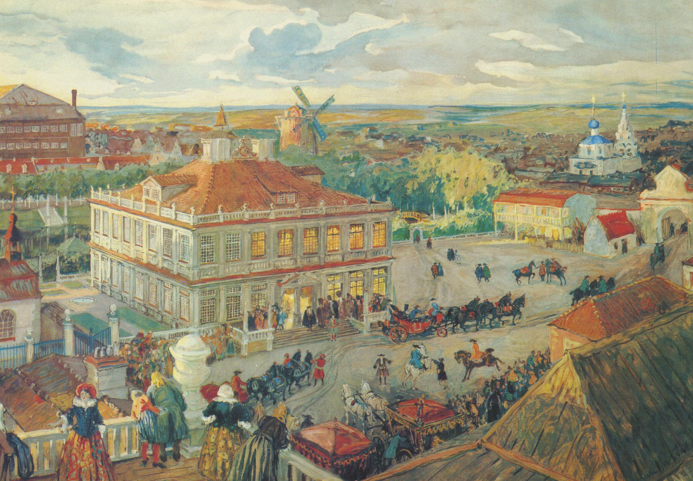 Картинки 17 века в россии